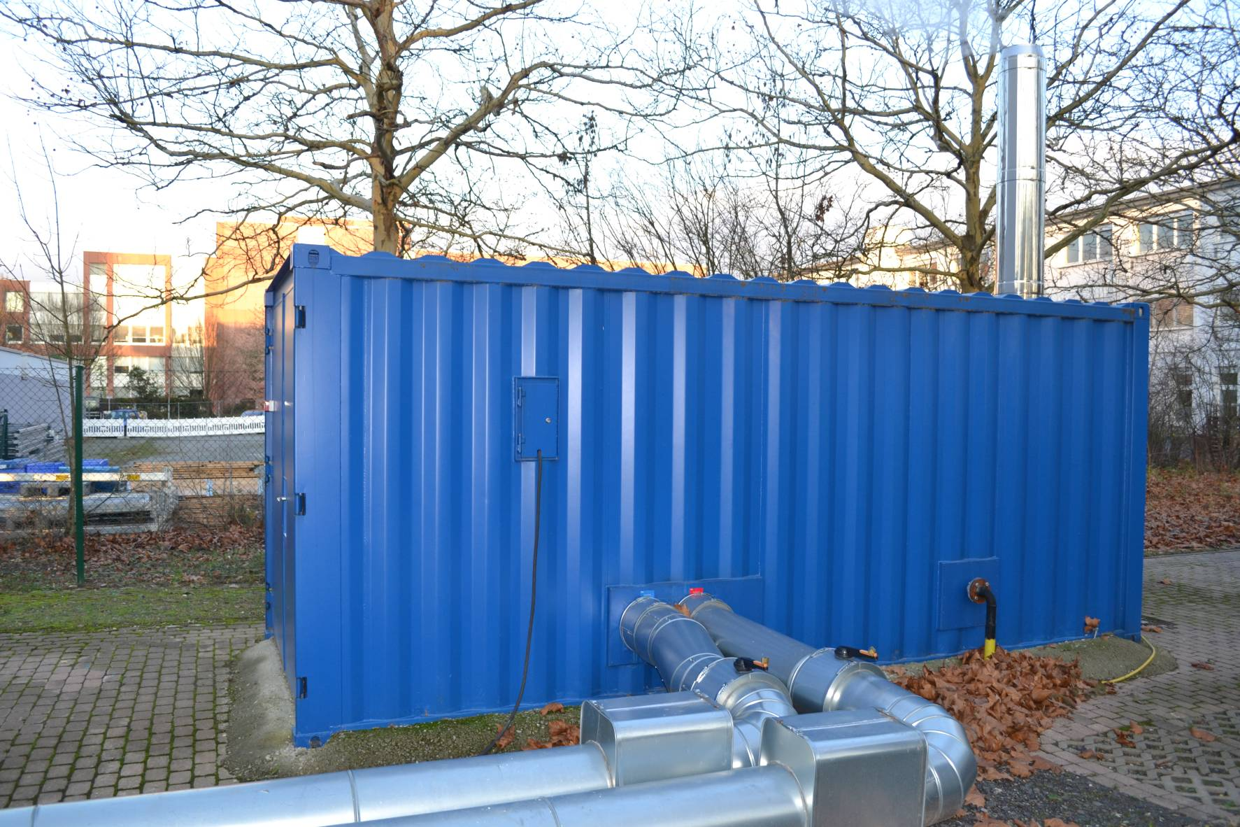 Heizcontainer: 900 kW